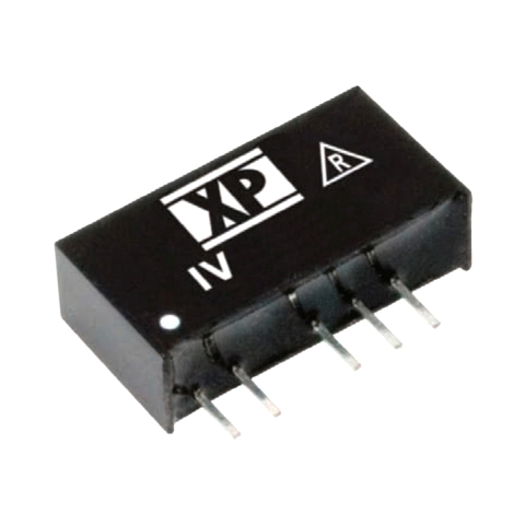 ממיר מתח - 1W , 10.8VDC ~ 13.2VDC ⇒ ±24VDC , 42MA XP POWER
