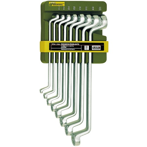 PROXXON 8 PIECE DOUBLE RING SPANNER SET - 23810