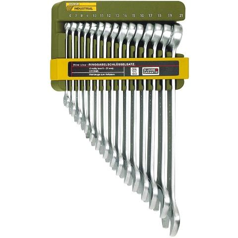 סט מפתחות רינג / פתוח מילימטרי - 15 יחידות - PROXXON 23821 PROXXON