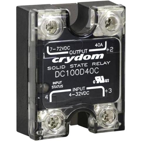 CRYDON PANEL MOUNT SOLID STATE RELAYS - POWER PLUS DC SERIES