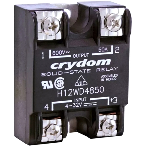 CRYDON PANEL MOUNT SOLID STATE RELAYS - H12WD SERIES