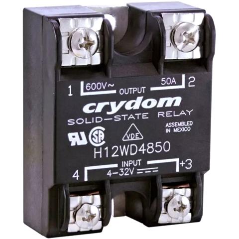 ממסר SPST-NO , 48VAC ~ 660VAC , 90A - SSR CRYDOM