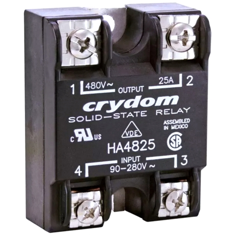 CRYDON PANEL MOUNT SOLID STATE RELAYS - HA48 & HD48 SERIES