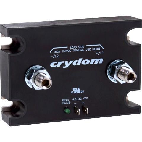 ממסר SPST-NO , 7VDC ~ 72VDC , 160A - SSR CRYDOM