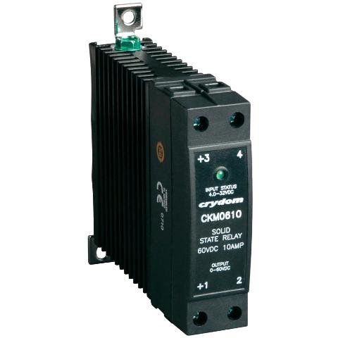 CRYDON DIN RAIL MOUNT SOLID STATE RELAYS - CKM SERIES