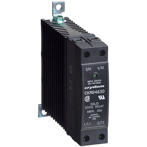 CRYDON DIN RAIL MOUNT SOLID STATE RELAYS - CKR48 SERIES