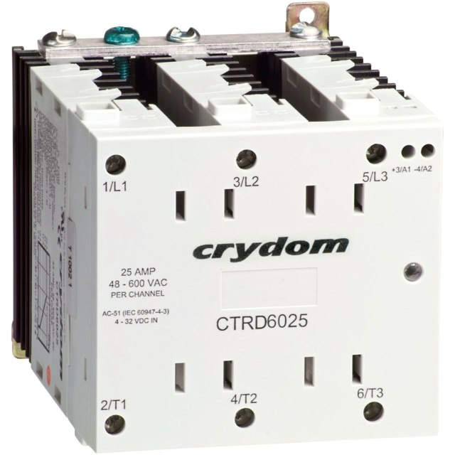 CRYDON DIN RAIL MOUNT SOLID STATE RELAYS - CTR SERIES