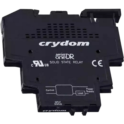 CRYDON DIN RAIL MOUNT SOLID STATE RELAYS - DR SERIES 6A & 12A