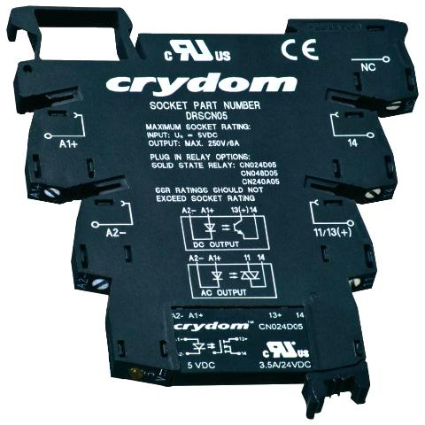 CRYDON DIN RAIL MOUNT SOLID STATE RELAYS - DRACN SERIES