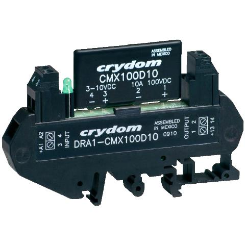 CRYDON DIN RAIL MOUNT SOLID STATE RELAYS - DRA1 CMX SERIES