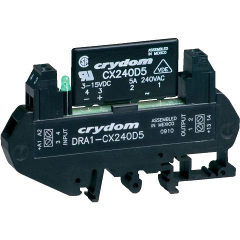CRYDON DIN RAIL MOUNT SOLID STATE RELAYS - DRA1 CX SERIES