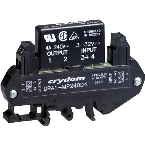 CRYDON DIN RAIL MOUNT SOLID STATE RELAYS - DRA1 MP SERIES