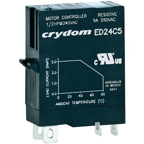 CRYDON DIN RAIL MOUNT SOLID STATE RELAYS - ED SERIES