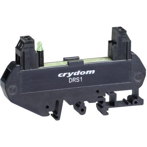 תושבת פס דין לממסר מצב מוצק (CRYDOM DRS1 - (SSR CRYDOM