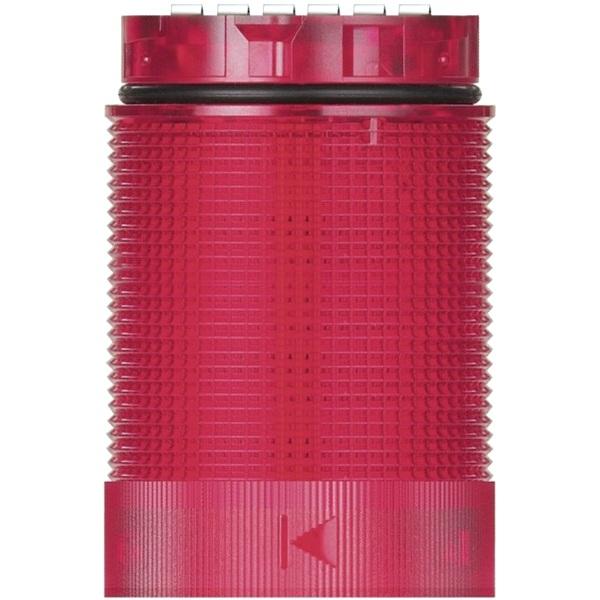 מנורת התראה מודולרית אדומה - LED , 24V (AC/DC) - TWINLIGHT WERMA