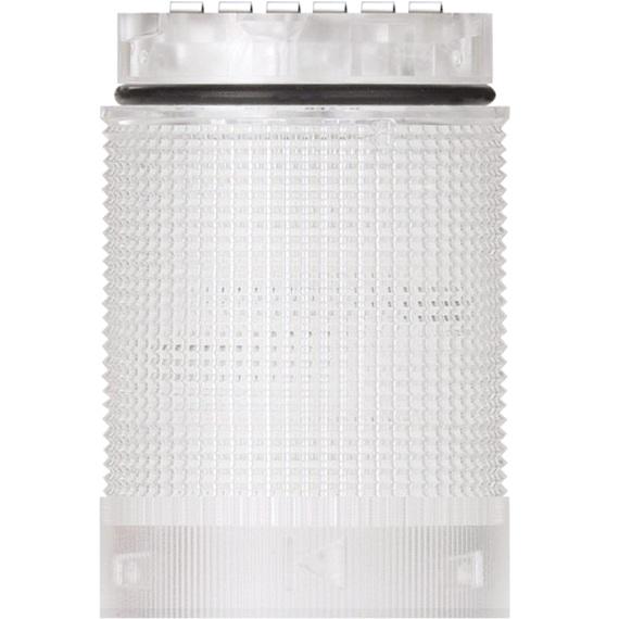 מנורת התראה מודולרית לבנה - LED , 24V (AC/DC) - TWINLIGHT WERMA
