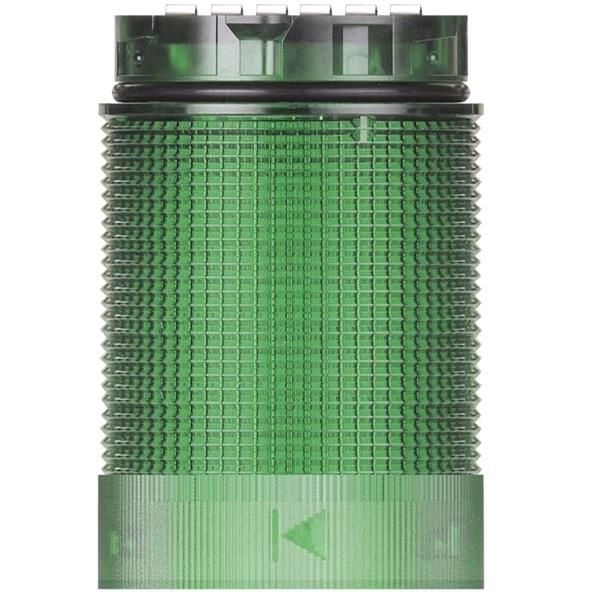 מנורת התראה מודולרית ירוקה - LED , 24V (AC/DC) - TWINFLASH WERMA