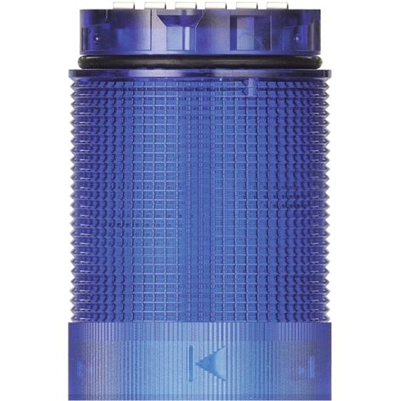 מנורת התראה מודולרית כחולה - LED , 24V (AC/DC) - TWINFLASH WERMA