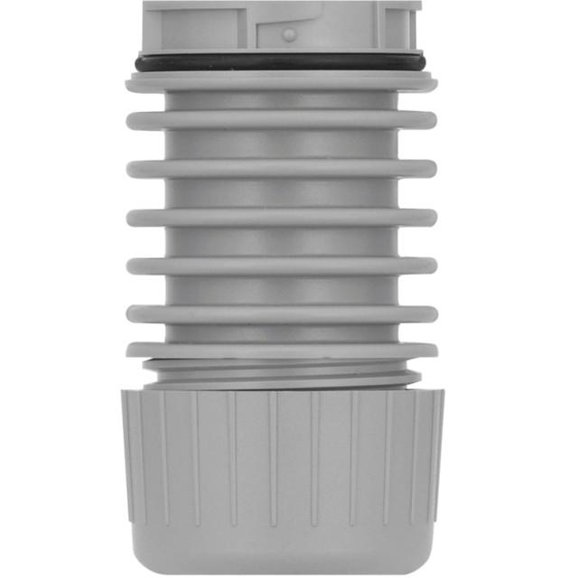 מתאם התחברות אפור - TUBE MOUNT -  למנורות התראה מודולריות WERMA