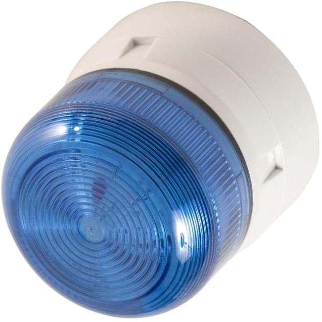 מנורת התראה כחולה מהבהבת - XENON , 3W , 12VDC / 24VDC KLAXON