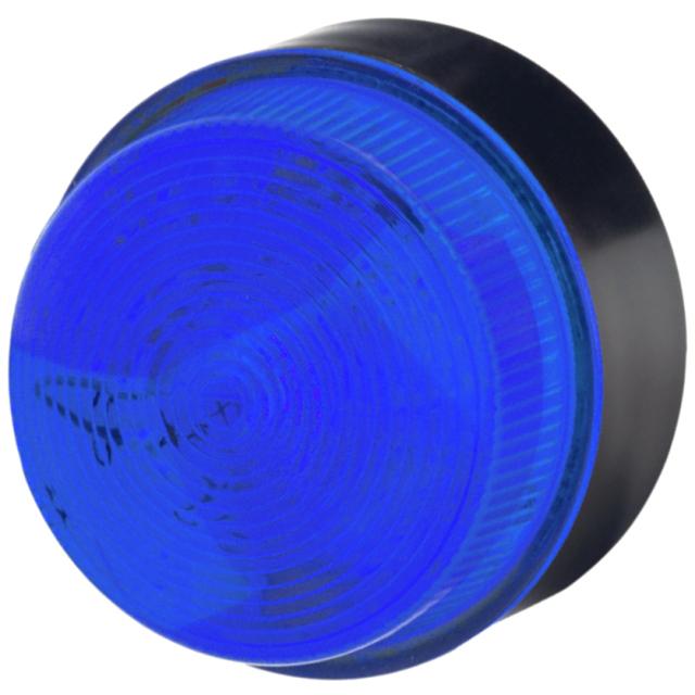 מנורת התראה כחולה מהבהבת - XENON , 18VDC ~ 30VDC MOFLASH SIGNALLING