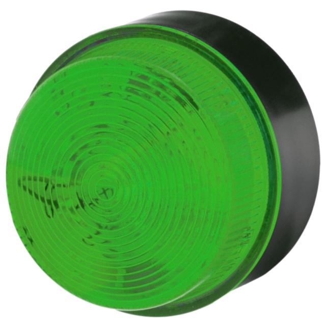 מנורת התראה ירוקה מהבהבת - XENON , 18VDC ~ 30VDC MOFLASH SIGNALLING