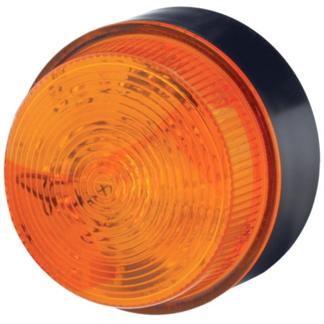 מנורת התראה כתומה מהבהבת - XENON , 10~100VDC / 20~72VAC MOFLASH SIGNALLING