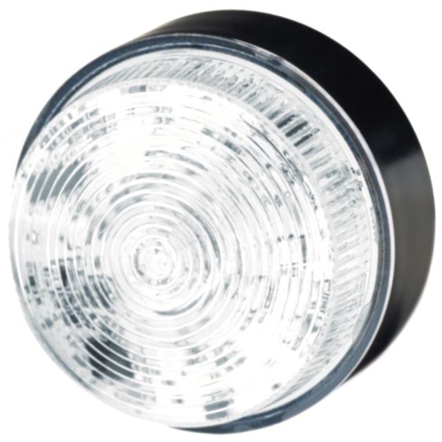 מנורת התראה לבנה מהבהבת - XENON , 10~100VDC / 20~72VAC MOFLASH SIGNALLING
