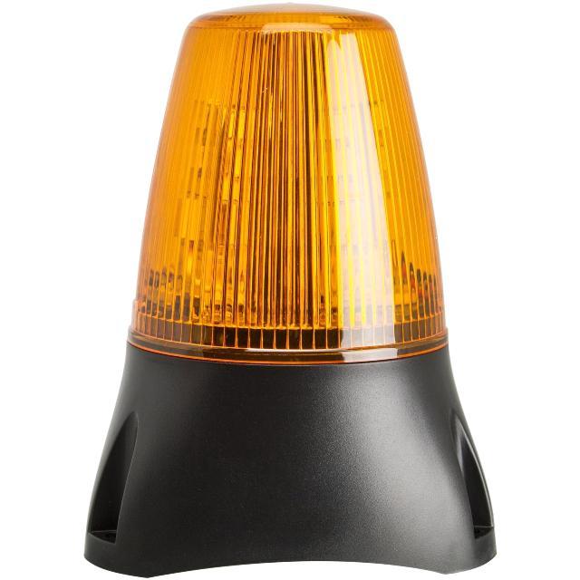מנורת התראה כתומה - LED , 85V~280V (AC/DC) , DUAL FUNCTION MOFLASH SIGNALLING