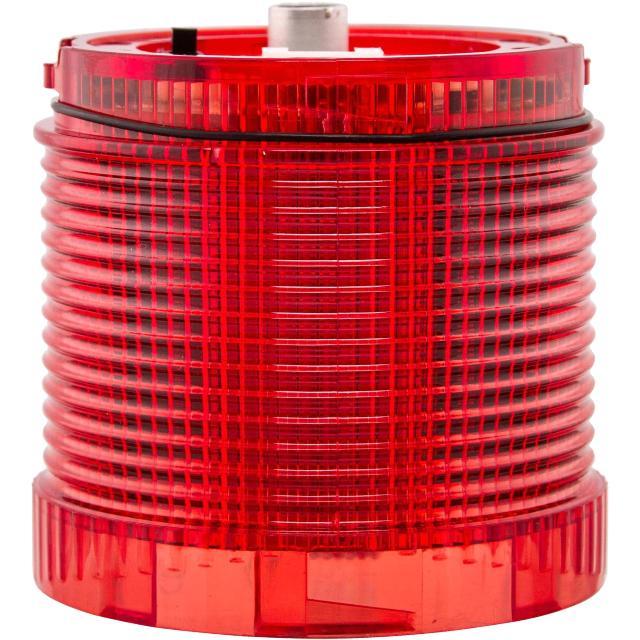 מנורת התראה אדומה מודולרית - LED , 85VAC~275VAC , D/F MOFLASH SIGNALLING
