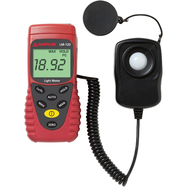 BEHA AMPROBE 200,000 LUX HAND HELD LIGHT METER - LM-120