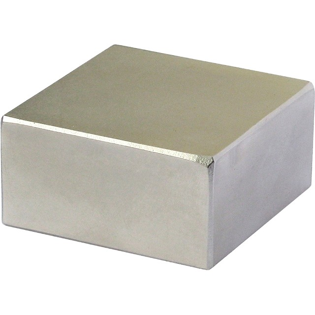 מגנט - NEODYMIUM BLOCK - 50MM X 20MM X 3MM ECLIPSE MAGNETICS
