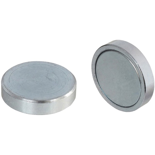 סט 20 מגנטים - NEODYMIUM SHALLOW POT - 4.5MM X 8MM ECLIPSE MAGNETICS