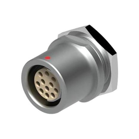 מחבר FISCHER - נקבה לפנל - 4 מגעים - DB 102 A053-130 FISCHER CONNECTORS