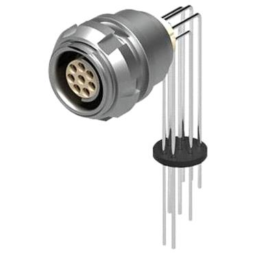 מחבר FISCHER - נקבה לפנל - 4 מגעים - DBPC 102 A053-130 FISCHER CONNECTORS