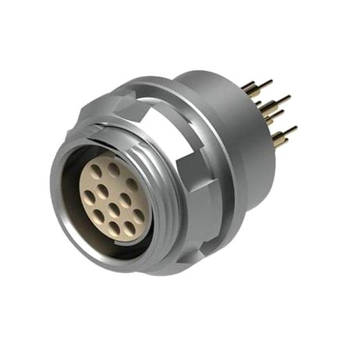 מחבר FISCHER - נקבה לפנל - 2 מגעים - DBP 102 A051-130 FISCHER CONNECTORS