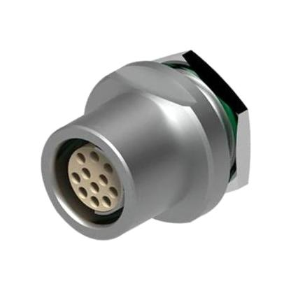 מחבר FISCHER - נקבה לפנל - 6 מגעים - DBEE 104 A065-130 FISCHER CONNECTORS