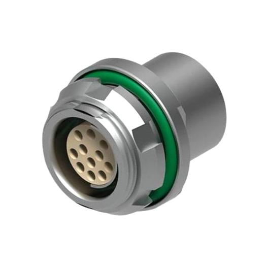 מחבר FISCHER - נקבה לפנל - 12 מגעים - DBPU 105 A069-139 FISCHER CONNECTORS