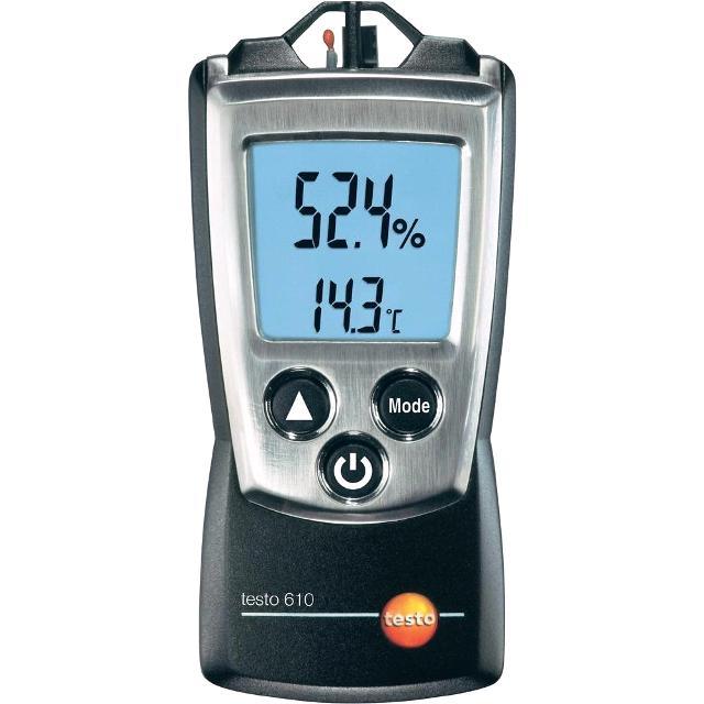 מודד טמפרטורה ולחות ידני דיגיטלי -  TESTO 610 HYGROMETER TESTO