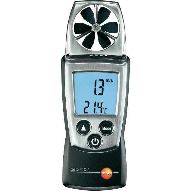 מודד ספיקת אוויר , טמפרטורה ולחות  - TESTO 410-2 ANEMOMETER TESTO