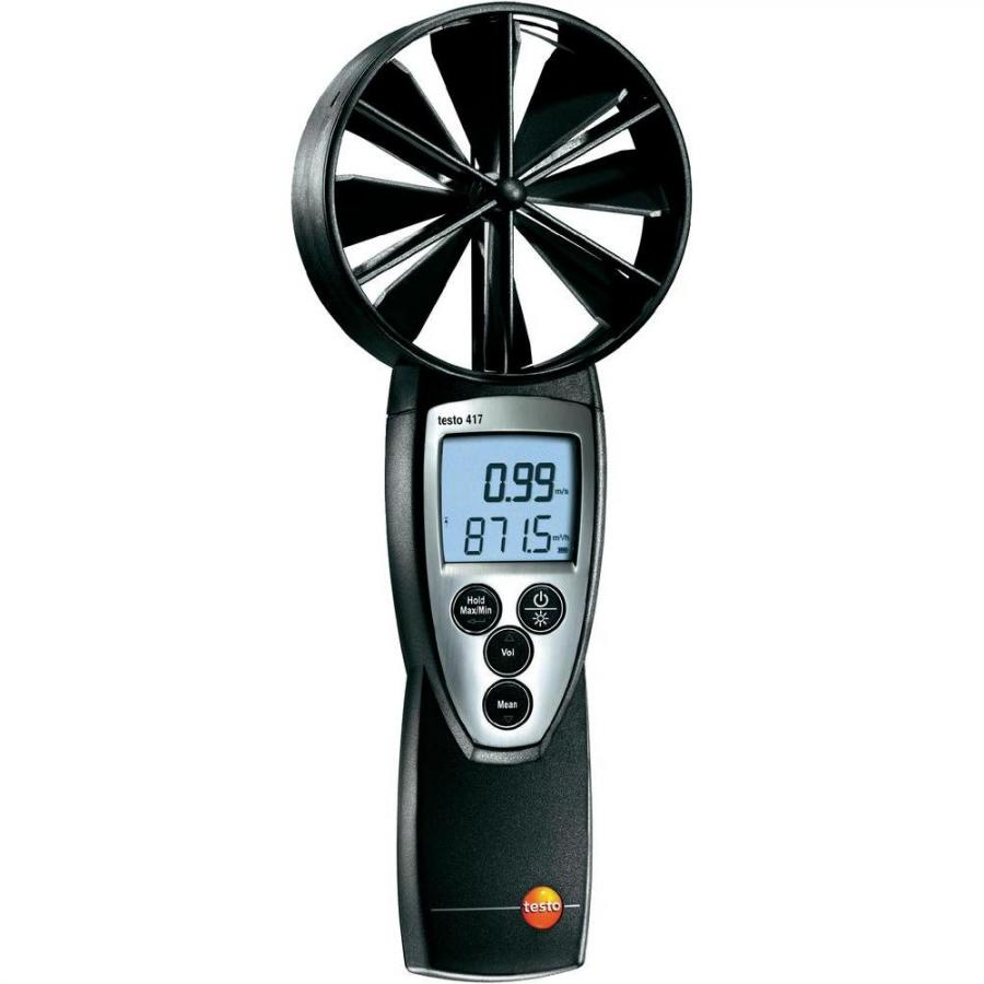 TESTO 417 DIGITAL HAND HELD ANEMOMETER