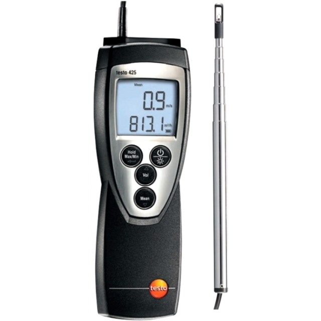 TESTO 425 DIGITAL HAND HELD ANEMOMETER