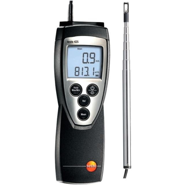 מודד ספיקת אוויר וטמפרטורה - TESTO 425 ANEMOMETER TESTO