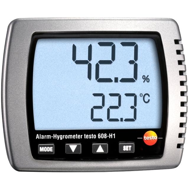 מד טמפרטורה ולחות דיגיטלי - TESTO 608-H1 HYGROMETER TESTO