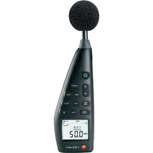 מודד עוצמת רעש ידני דיגיטלי - TESTO 816-1 SOUND LEVEL METER TESTO