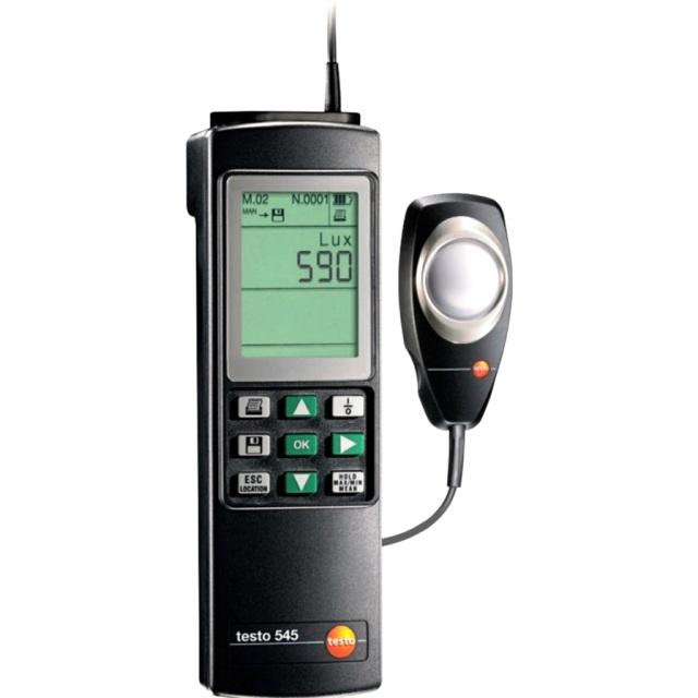 מודד עוצמת אור ידני דיגיטלי - TESTO 545 LUX METER TESTO