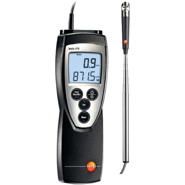 TESTO 416 DIGITAL HAND HELD ANEMOMETER