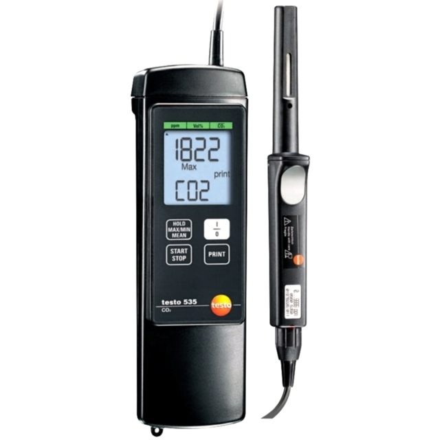 TESTO 535 DIGITAL HAND HELD CO2 METER
