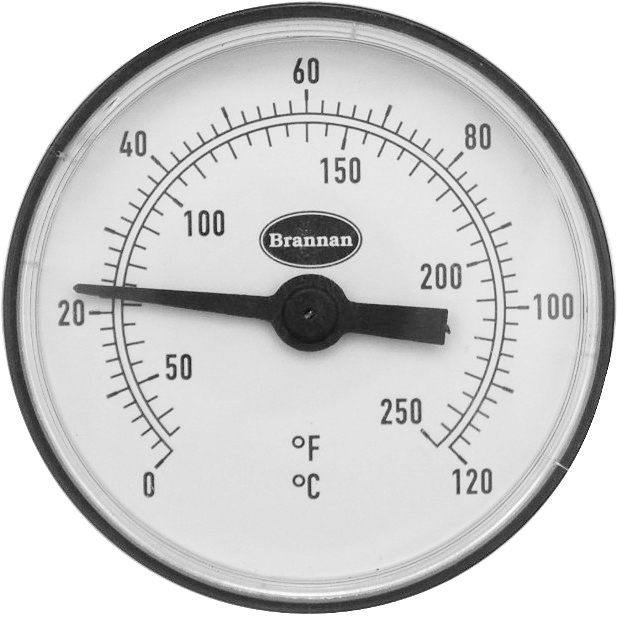 BRANNAN PIPE THERMOMETER - 33/401/0