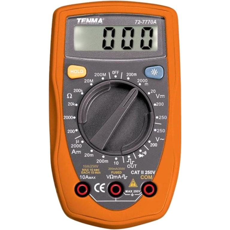 TENMA DIGITAL MULTIMETERS - PALM SERIES